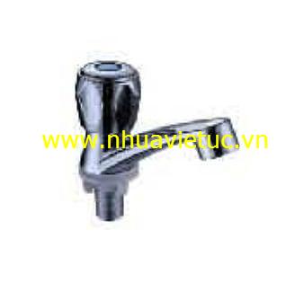Vòi lavabo đơn HK mạ Cr-Ni - T151-A